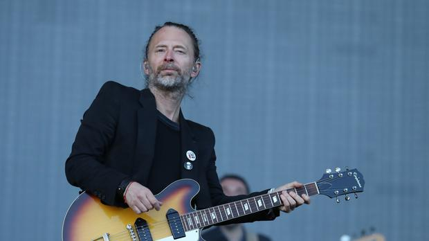 Thom Yorke told of difficult times for his family after the death of former partner Rachel Owen (Andrew Milligan/PA)