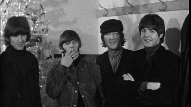 The Beatles in Cardiff. (Omega Auctions/PA)