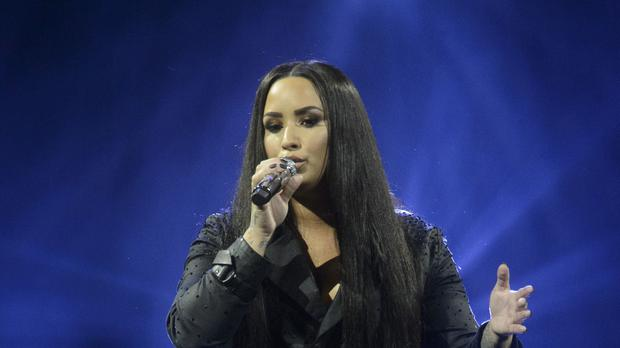 Demi Lovato has been on a 'spiritual' trip to Israel (John Linton/PA)