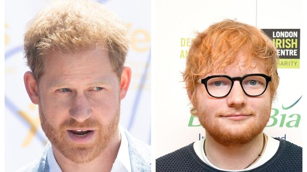 Ed Sheeran and Prince Harry tease new collaboration