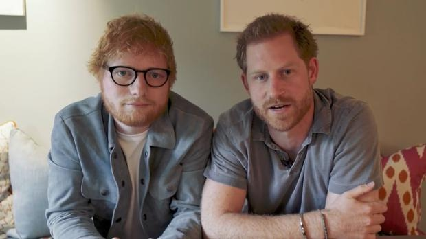 Prince Harry & Ed Sheeran come Together for World Mental Health Day