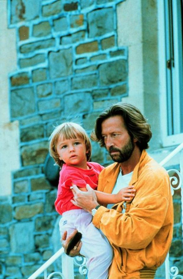 'Tears in Heaven': Eric Clapton lost his four-year-old son Conor in 1991