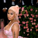 Nicki Minaj said she was being 'sarcastic' after claiming to have recorded a song and filmed a music video with Adele (Jennifer Graylock/PA)