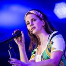 Lana Del Rey has said she is gaining creatively from the cultural 'damage' of Donald Trump's presidency (Danny Lawson/PA)