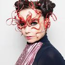 Bjork ahead of her Cornucopia tour