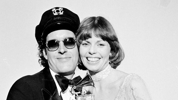 Daryl Dragon and his wife Toni Tennille, pictured in 1976 (AP)