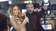Mariah Carey performs at the New Year's Eve celebration in Times Square (Photo Greg Allen/Invision/AP)