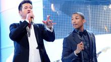 Robin Thicke has admitted he didn't help Pharrell Williams write Blurred Lines