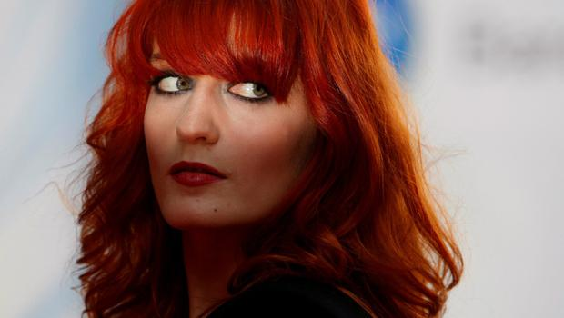 'What sets Florence apart? Everything'. That's what Taylor Swife said about Florence Welch, lead singer of Florence + The Machine. Photo: Andrew Winning.