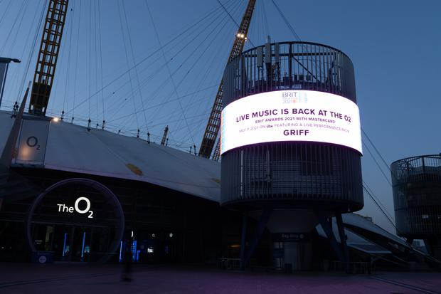 The Brit Awards will take place at the O2 arena in London (George Rees Williams/PA)