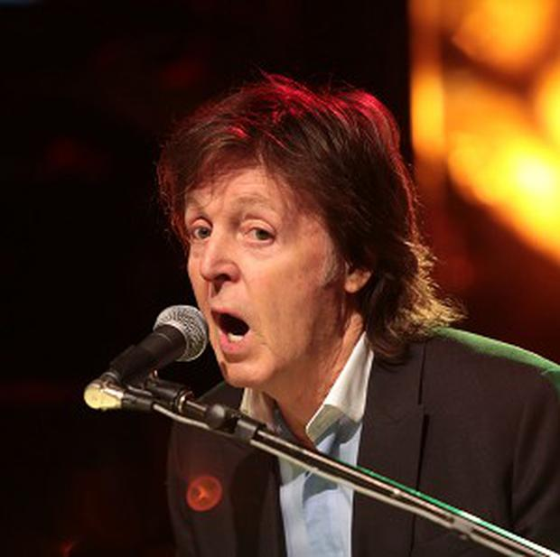 Sir Paul McCartney's rappers of choice are Kanye West and Jay Z
