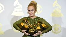 Critics claimed the dress made Adele look like Fiona from Shrek (Chris Pizzello/Invision/AP)