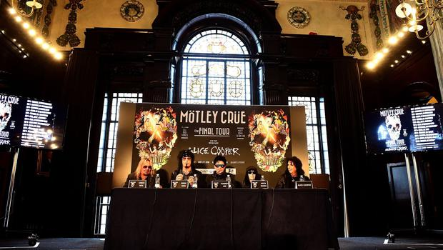 "Motley Crue have made a ""death pact"""