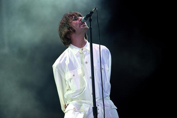 Liam Gallagher on stage at Knebworth (Stefan Rousseau/PA)