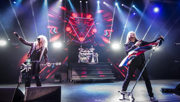 Def Leppard, who will be headlining at Download Festival (PA)