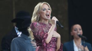 Kylie Minogue performed at Glastonbury last year (Yui Mok/PA)