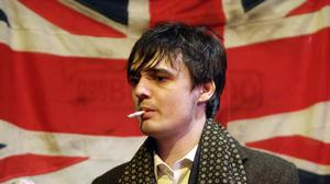 The frontman of The Libertines, Pete Doherty