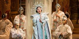 Exotic tale: Puccini was working on the final scenes of Turandot when he died
