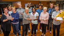 Gareth Malone's All Star Choir for Children in Need single has gone straight in at number one