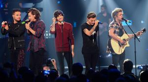 One Direction performed at the iHeartRadio Music Festival
