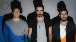 Silver linings: The Coronas, from left, Conor Egan, Danny O'Reilly and Graham Knox