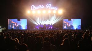 Elbow perform on the main stage during day three of the Electric Picnic festival in Stradbally, County Laois (Niall Carson/PA)