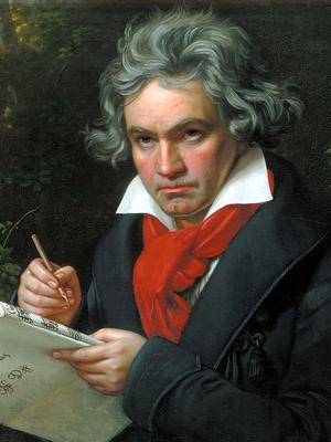 Dates: It's said Beethoven himself claimed to be born in 1772, not 1770
