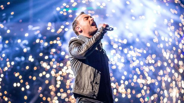 Kevin Simm was crowned winner of The Voice (BBC/PA Wire)
