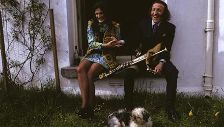 Rita and Paddy sit together and share a laugh in Co Wicklow in June 1973. Picture by Susan Wood/Getty