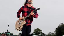 Foo Fighters' Dave Grohl at Slane Castle in Co Meath