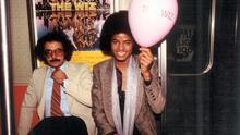 Ron Weisner with a young Michael Jackson