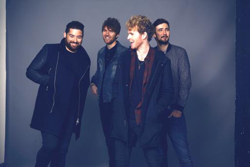 Kodaline who headline the New Year's extravaganza. Pic. Naomi Gaffey.