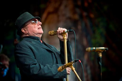 Van Morrison performing on Cyprus Avenue