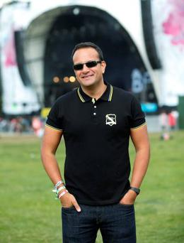 Leo Varadkar at Electric Picnic, Stradbally, Co Laois