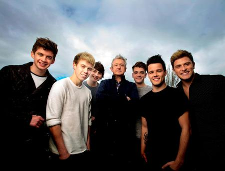 Louis Walsh with has a new boy band HomeTown