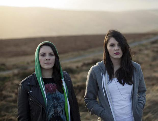 IN THE WILDS: Louise and Ellie McNamara, the twin sisters who make up Heathers