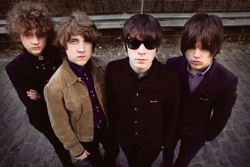Rocking: Cavan band The Strypes will play the charity gig a week on Sunday.