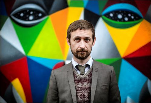 Songwriter Neil Hannon always wanted to be a pop star. Photo: David Conachy