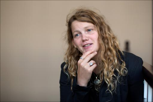 Stormy words: Kate Tempest. Photo: David Conachy