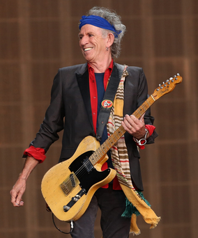 On a roll: Keith Richards is still hungry to make music