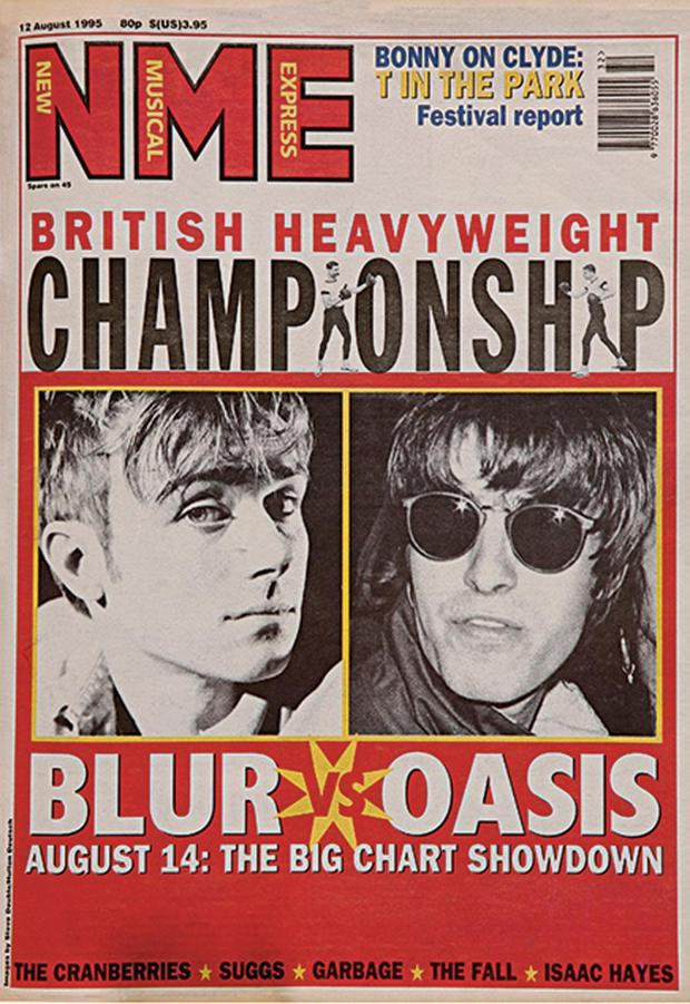 Got it covered: NME gave punk rock a platform and set up the Blur Vs Oasis rivalry