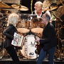Mac three: Christine McVie, Mick Fleetwood and Lindsey Buckingham perform at the MusiCares Person of the Year event. Photo: Steven Ferdman/Getty Images
