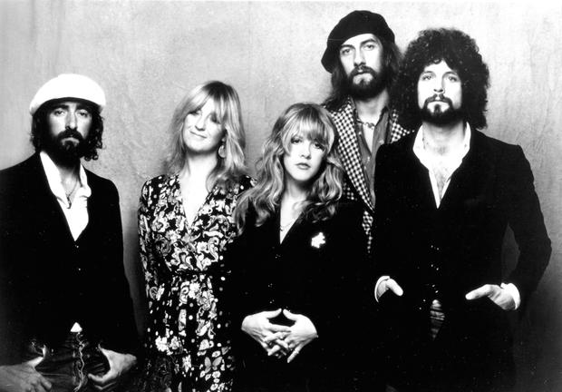 Classic Mac line-up: (l-r)John and Christine McVie, Stevie Nicks, Mick Fleetwood, and Lindsey Buckingham. Photo: Getty Images