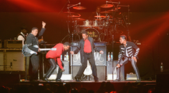 Boogie nights: The Jacksons headline Beatyard festival in Dun Laoghaire tonight. Photo: Getty Images