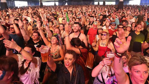 Crowds at a previous Electric Picnic festival in Stradbally, County Laois (Niall Carson/PA)