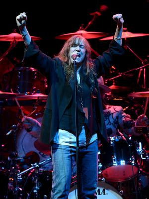 Patti Smith performs at Madison Square Garden on November 27, 2012 in New York City