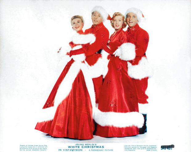 vera ellen danny kaye rosemary clooney and bing crosby dressed in christmas stage - Best Christmas Songs List