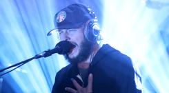 Justin Vernon of Bon Iver performs on the Jimmy Fallon show last month