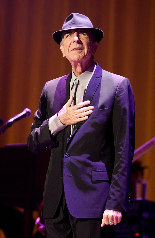 Leonard Cohen 'I love to hear an old singer lay it out'