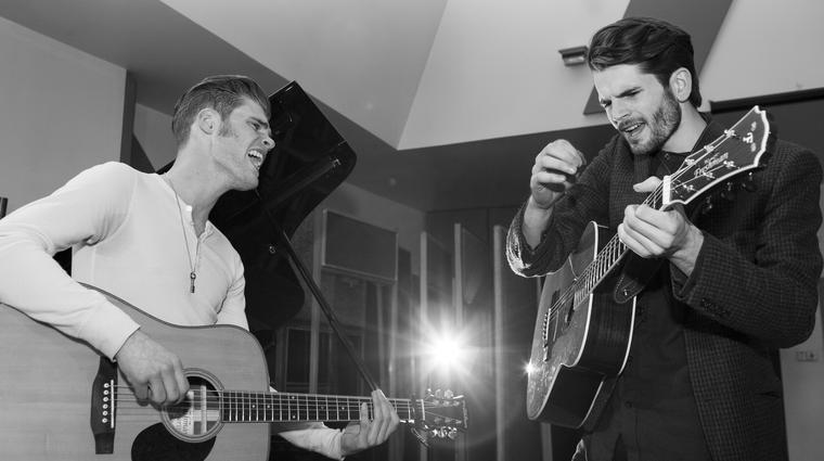 Harry and Alfie Hudson Taylor during the Windmill lane Sessions
